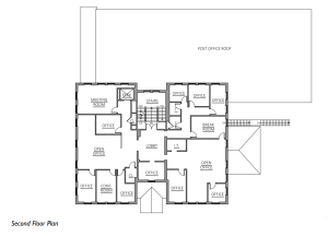 Town Center Second Floorplan